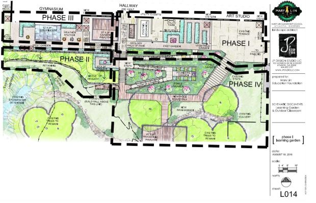 mary lin outdoor classroom phase 1 plan