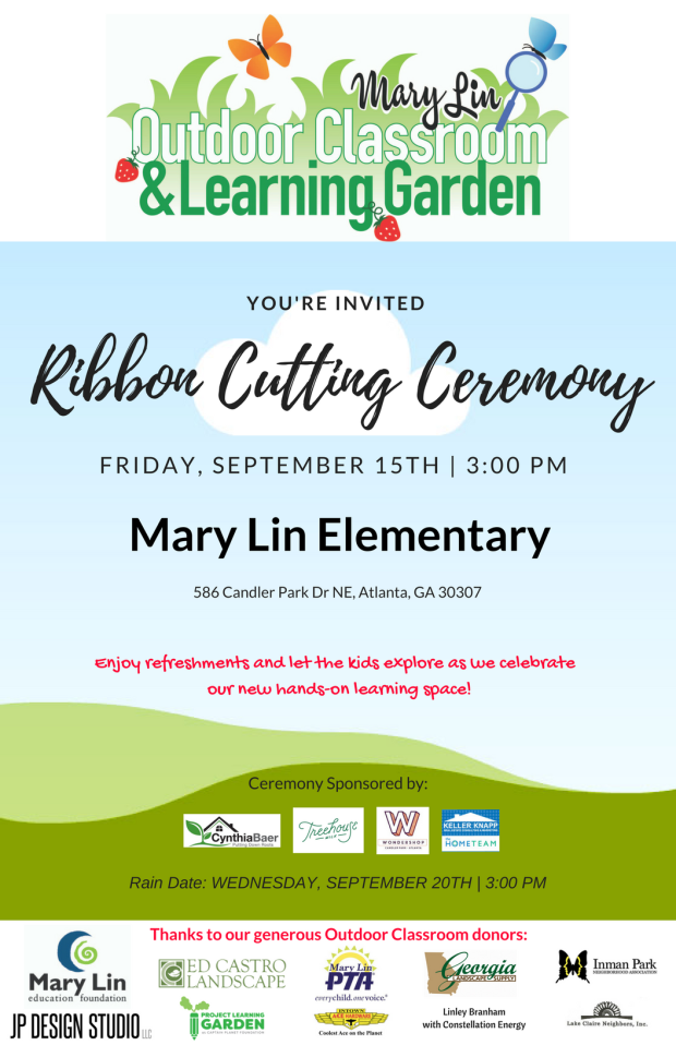 Mary Lin OCLG Ribbon Cutting Ceremony Invite 11x17 pic